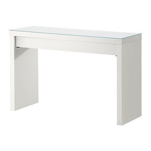 IKEA, MALM, Туалетный столик, белый (102.036.10) МАЛМ ИКЕА