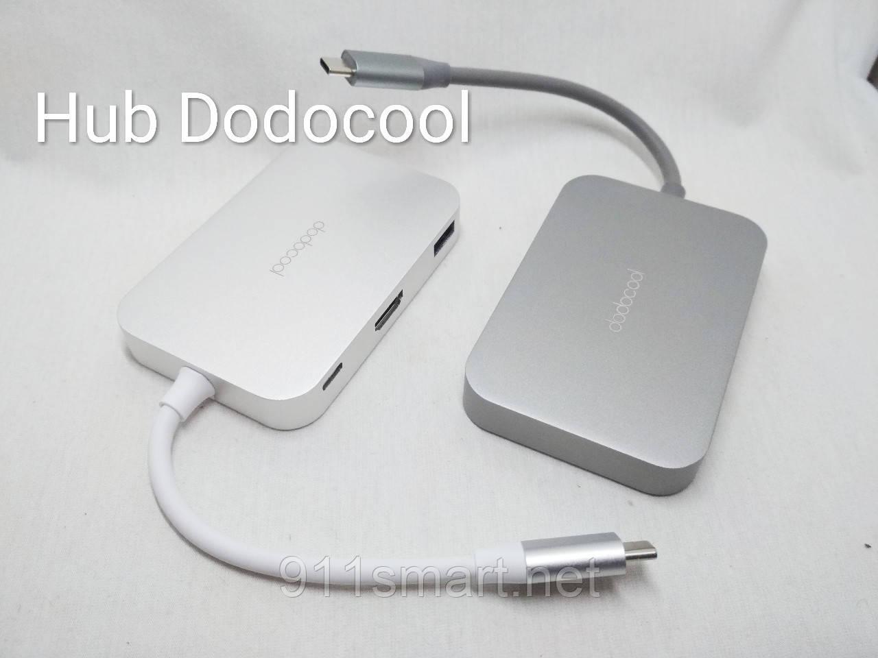 Перехідник Macbook, Lenovo, Chromebook Dodocool 7-in-1 USB-HUB C