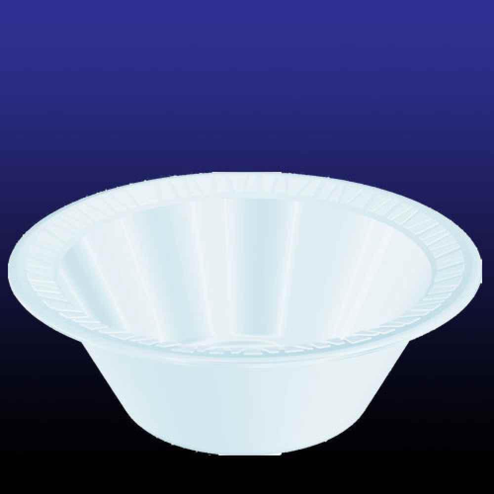 Тарілка глибока Dart, 12BWWCR, полістирол зпінений,300-360 мл, біла