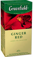 ТМ Greenfield Чай Ginger Red (Красный имбирь) 25*1,5 г 10 шт/уп