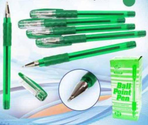 Ручка кулькова Tianjiao, TY-501P, зелена, фото 2