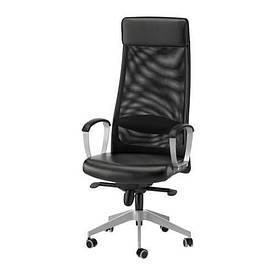 IKEA, MARKUS, Рабочий стул, черный (401.031.00)