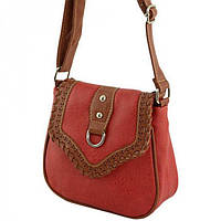 5ce730795f48 Интернет-магазин сумок BagShop.ua. г. Киев. Красная женская сумка с этно  мотивами Traum арт. 7215-18