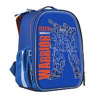 Рюкзак каркасный школьный «Robot Warrior»35х26х16 см 1 Вересня H-25