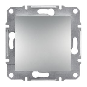 Кнопка 1-а Алюміній Asfora Schneider Electric, фото 2