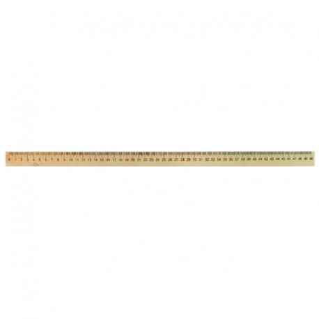 Лінійка дерев'яна шовкографія 50 см