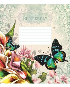 Зошит Мрії Збуваються Метелики, 18 аркушів, клітинка, 2289к, фото 2