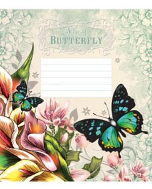 Зошит Мрії Збуваються Метелики, 18 аркушів, клітинка, 2289к