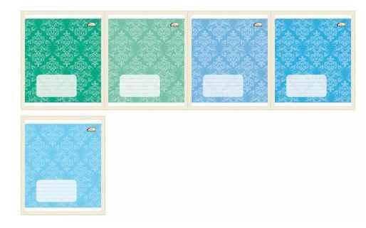 Зошит Brisk, 12 аркушів, лінія, 25/500, ТВ-47, фото 2