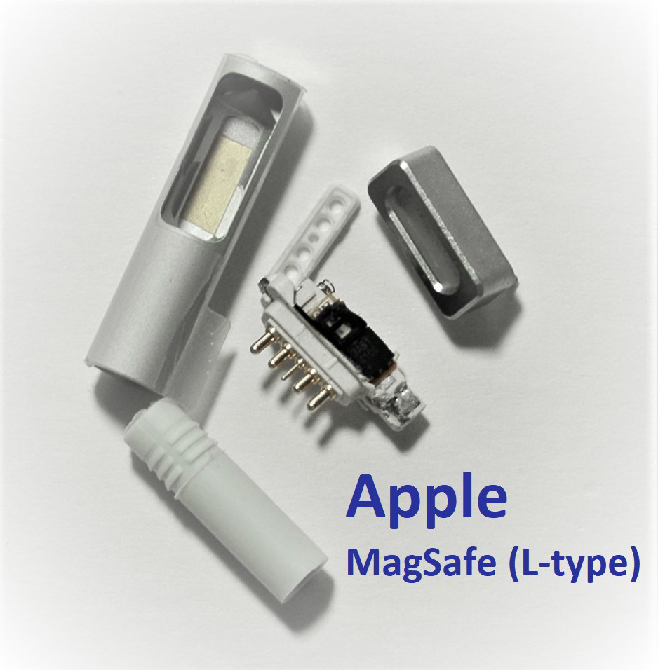 ОПТом Разъём для блока питания ноутбука Apple MacBook Air PRO 45W 60W 85W MagSafe (L-type)