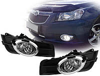 Противотуманные фары Chevrolet Cruze 2009- (Chrome)(DLAA), фото 1