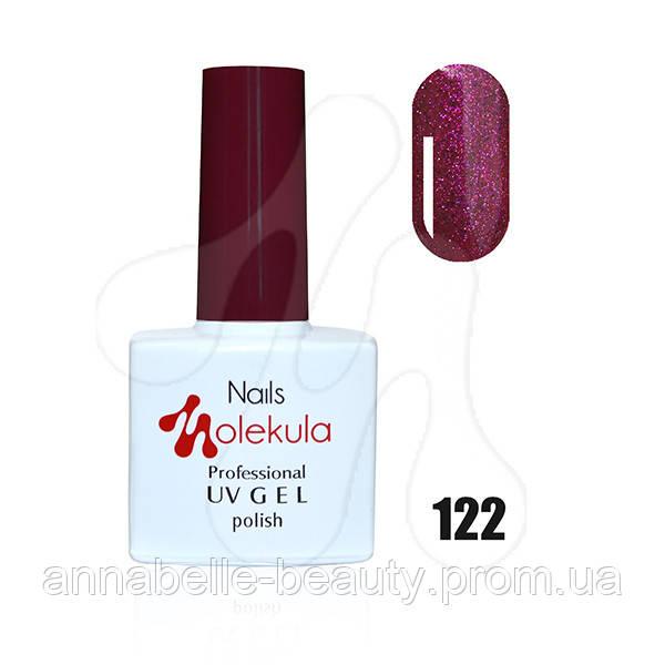 Гель-лак 11мл №122 малиновое мерцание