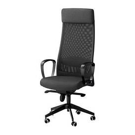 IKEA, MARKUS, Рабочий стул, темно-серый (702.611.50) МАРКУС ИКЕА
