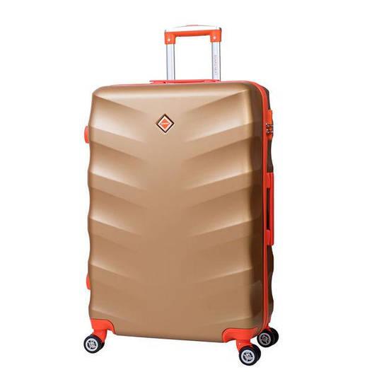 Чемодан сумка дорожный Bonro Next (средний) золотой