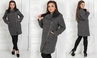 Женские пальто больших размеров батал оптом в Украине