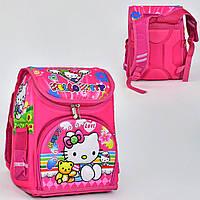 """Детский школьный рюкзак """"Hello Kitty"""". Спинка ортопедическая"""