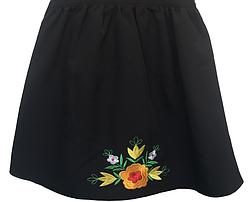 Школьный сарафан для девочек с вышивкой, фото 3