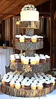 Подставка многоярусная для торта , фруктов , капкейков