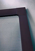 """Москитная сетка """"Антикошка"""" 10х20 внутр (с крылом), коричневая"""