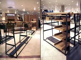 Базовое торговое оборудование для магазина одежды