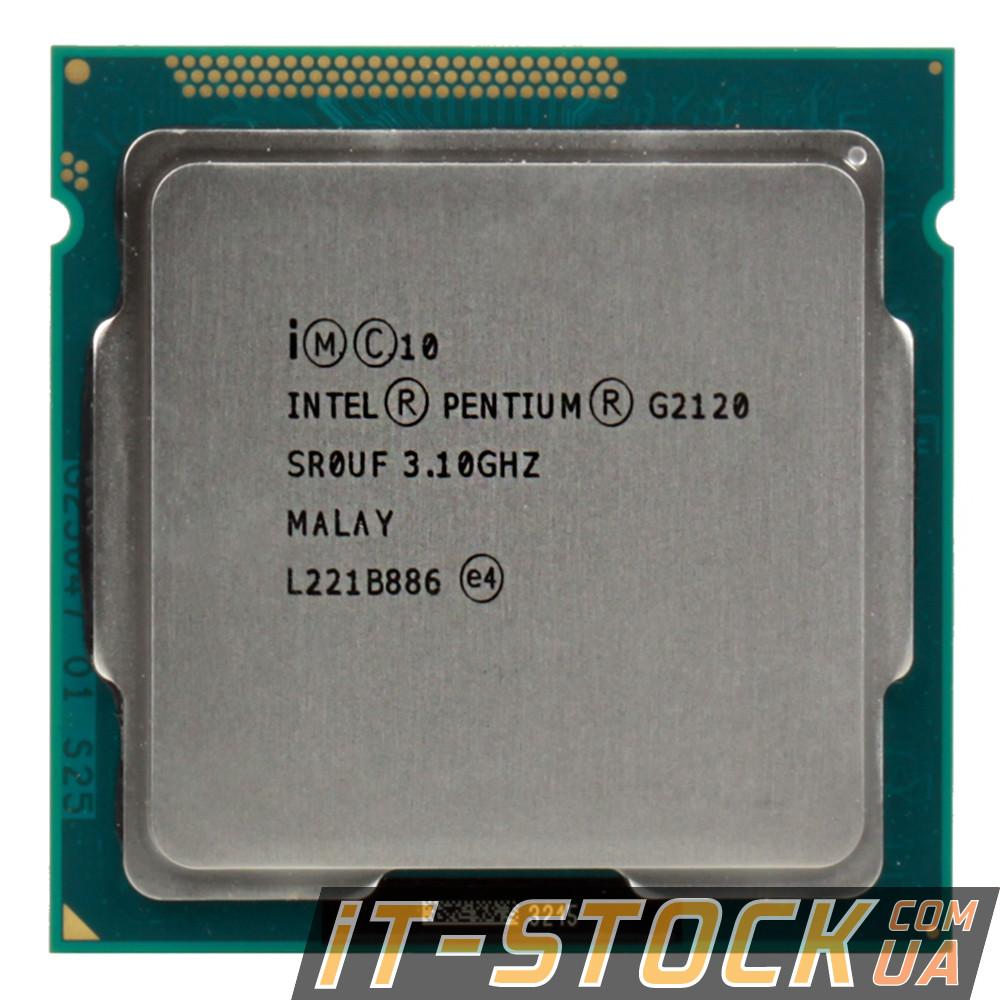 Процессор Intel Pentium G2120 (2×3.10GHz/3Mb/s1155) б/у