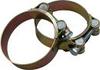 Хомут сталевий оцинкований 100х120х12W1 MEGA(р)