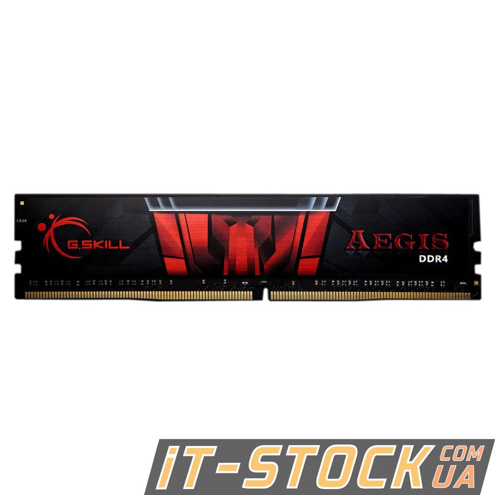 Модуль памяти DDR4 4Gb G.SKILL (F4-2400C15S-4GIS) 2400