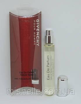 Мини парфюм Givenchy pour Homme 20 ml в ручке (реплика)
