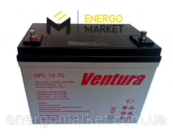 Аккумулятоная батарея Ventura GPL 12-70 AGM