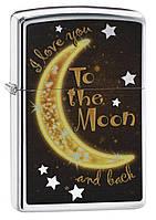 Зажигалка Зиппо: Zippo Golden Moon