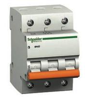 Автоматический выключатель Schneider Electric ВА63, 3P, 50A, 4,5ка, C