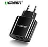 Ugreen 5V 3.4A универсальное зарядное USB устройство на 2 порта