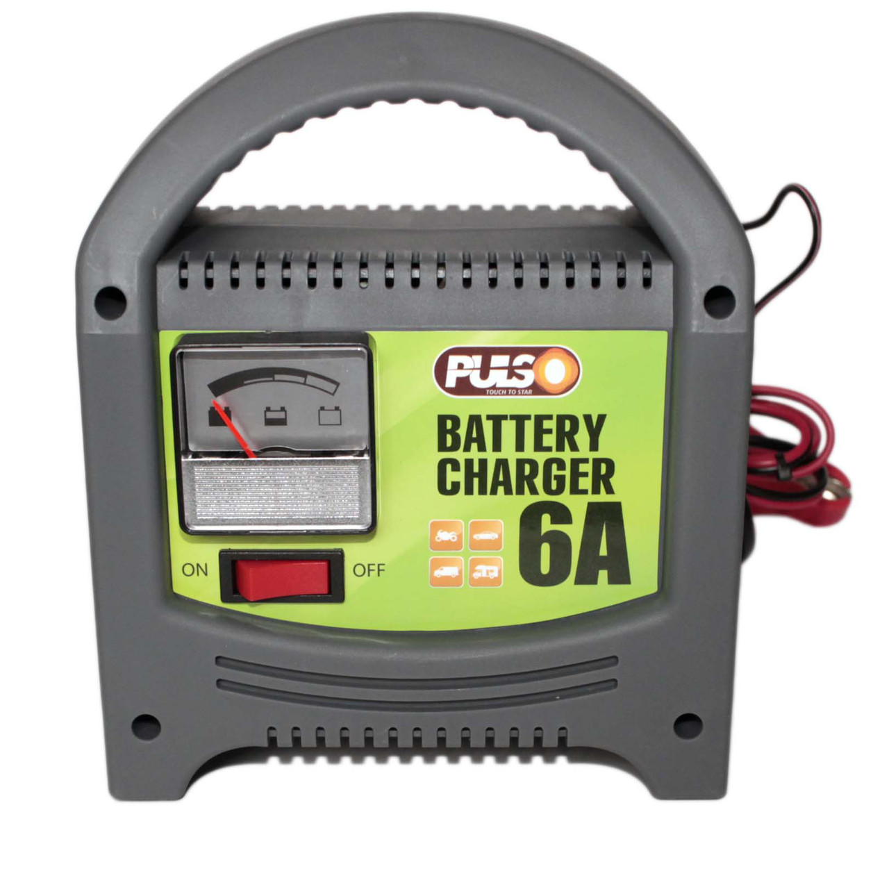 Зарядное устройство PULSO 12V 6А,  BC-20860