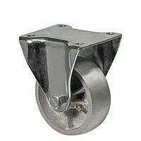 """Колесо неповоротн есерія 48 """"Medium"""" з кріпильною панеллю, підшипник ковзання, діаметр-80мм"""