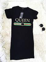 Женское стильное бредовое платье Gucci черное
