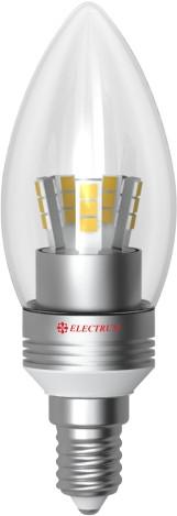 Electrum LC-30 5W E14 2700K алюм. корп.