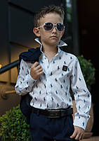 Стильная рубашка на мальчика Polo № 614 е.в