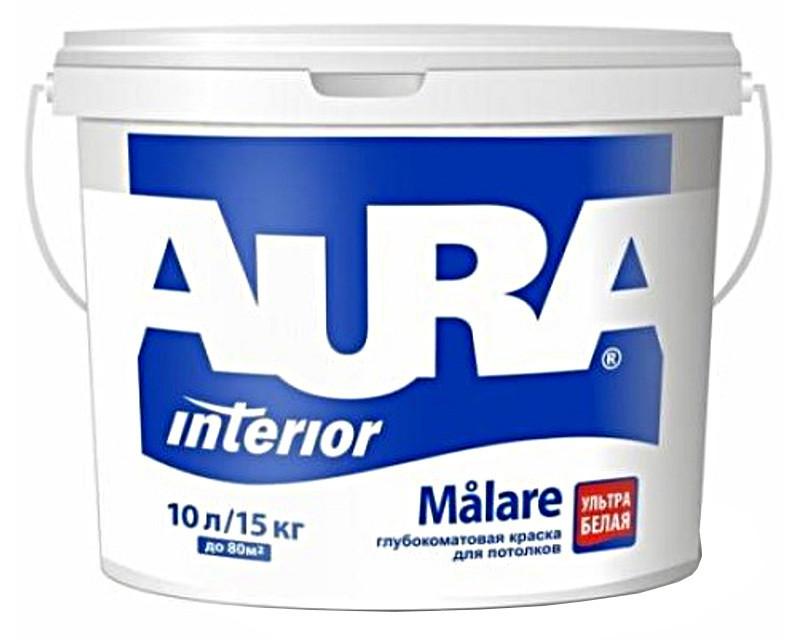 Краска  акриловая AURA MALARE интерьерная 10л