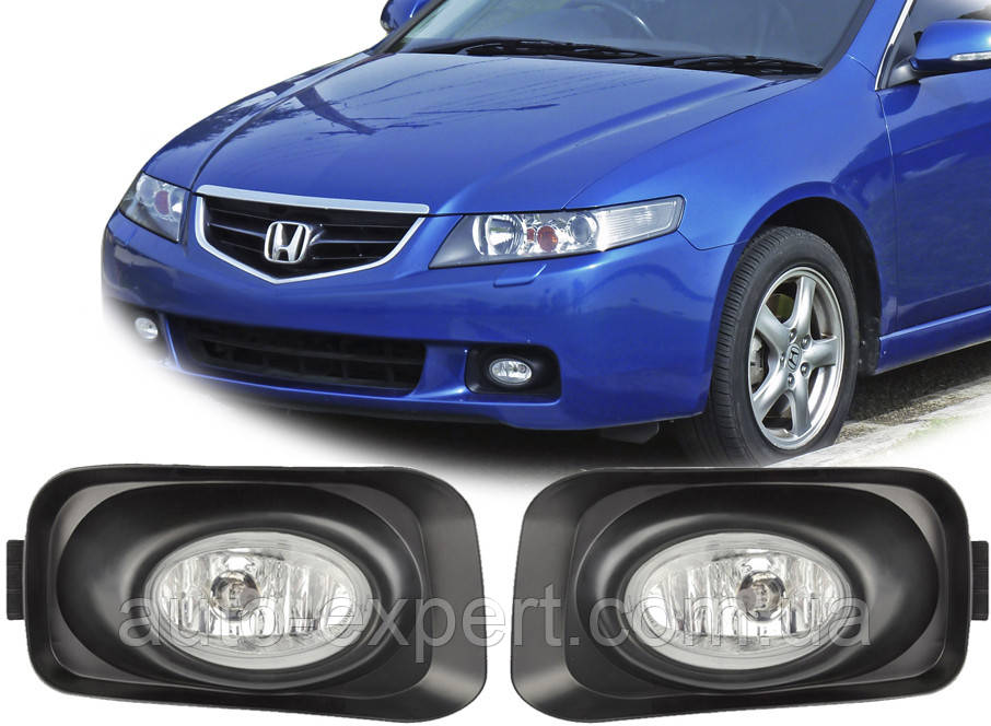 Противотуманные фары Honda Accord/2003-2006/Euro Type (DLAA)