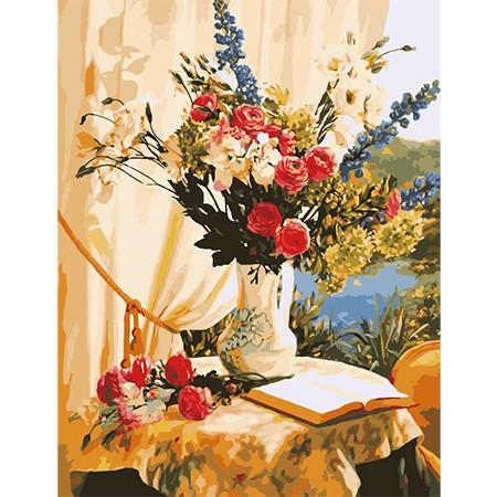 Цветы размер 50х65