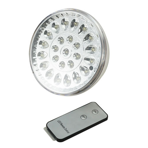 Светодиодная лампа с аккумулятором и пультом  25 LED