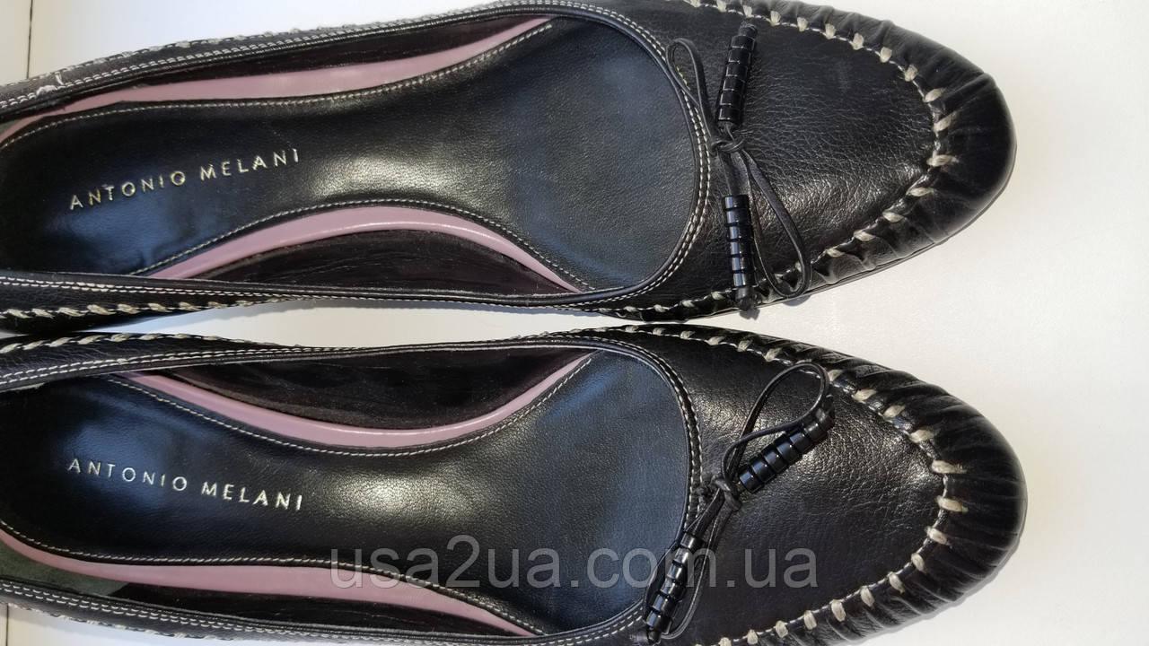 Туфли кожаные Италия Antonio Melani р.38.5 новые Люкс качество распродажа