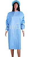 Халат стерильный хирургический 110см (S/M) одноразовый