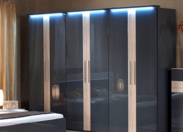 Шкаф 6-дверный Капри