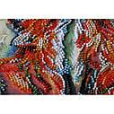 """Набор-миди для вышивки бисером на натуральном художественном холсте """"Лисоньки"""", фото 3"""