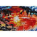 """Набор-миди для вышивки бисером на натуральном художественном холсте """"Заря вечерняя"""", фото 4"""