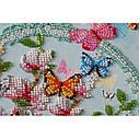 """Набор-миди для вышивки бисером на натуральном художественном холсте """"Ключи от весны"""", фото 3"""