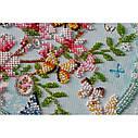 """Набор-миди для вышивки бисером на натуральном художественном холсте """"Ключи от весны"""", фото 4"""