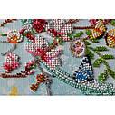"""Набор-миди для вышивки бисером на натуральном художественном холсте """"Ключи от весны"""", фото 5"""