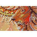 """Набор-миди для вышивки бисером на натуральном художественном холсте """"Солнцелев"""", фото 4"""